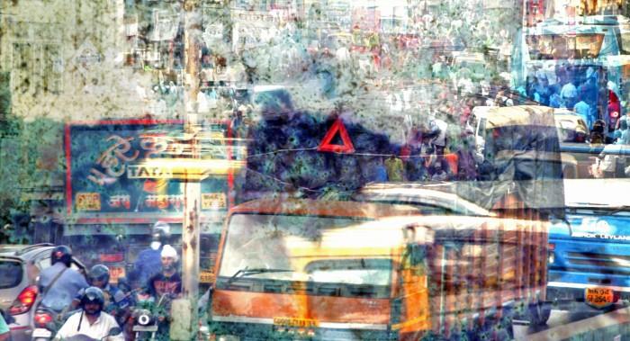 about bus in hindi language