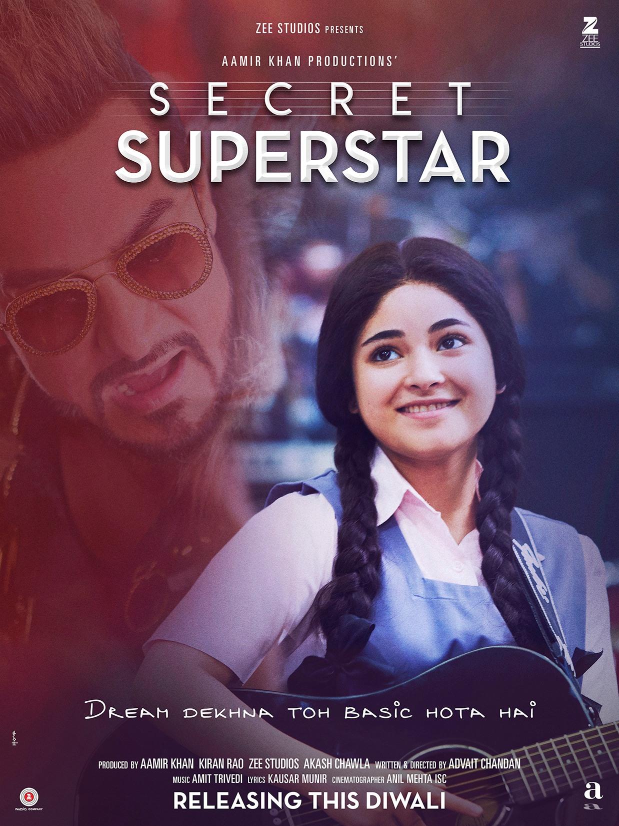 code promo bb755 978fa Secret Superstar - Festival bollywoodského filmu